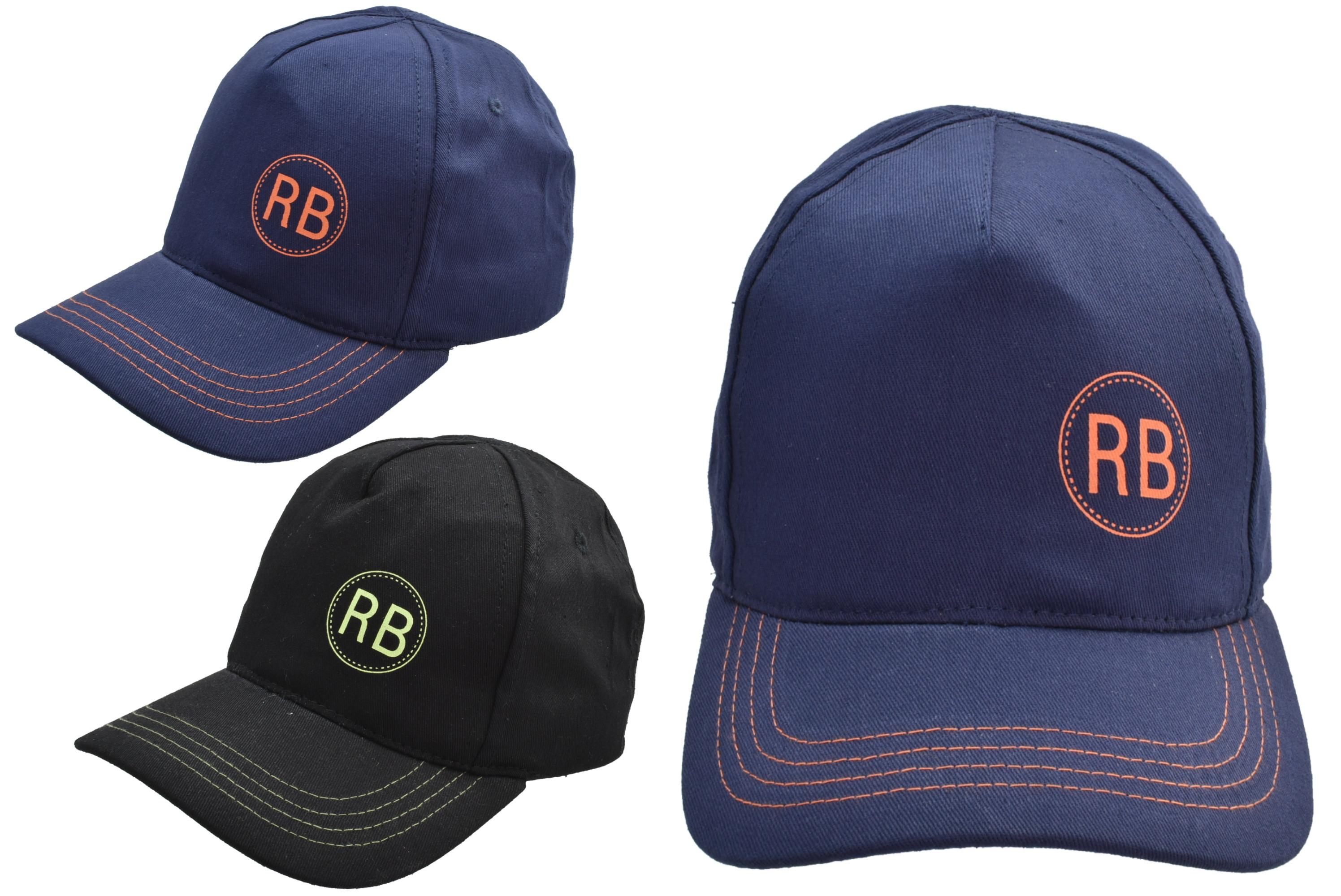 Baseball Cap 56cm 2 Assorted Colours