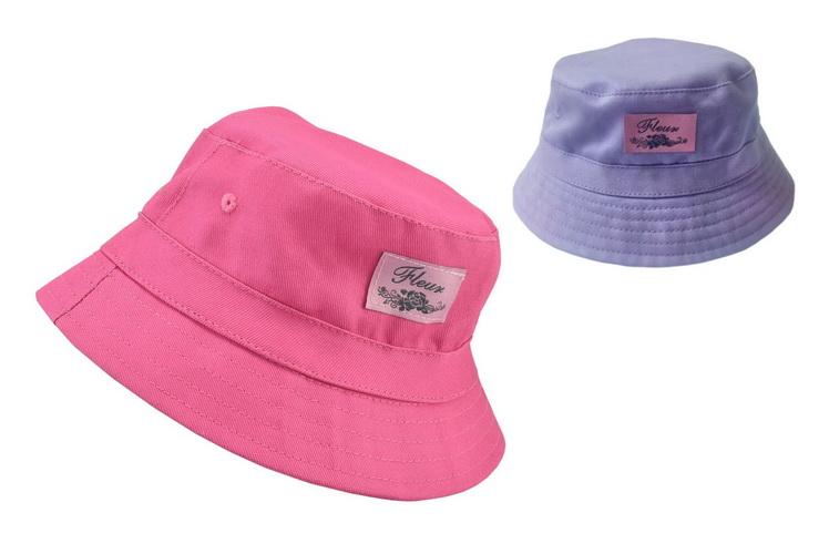Kids Bucket Hat 50cm 2 Assorted Colours