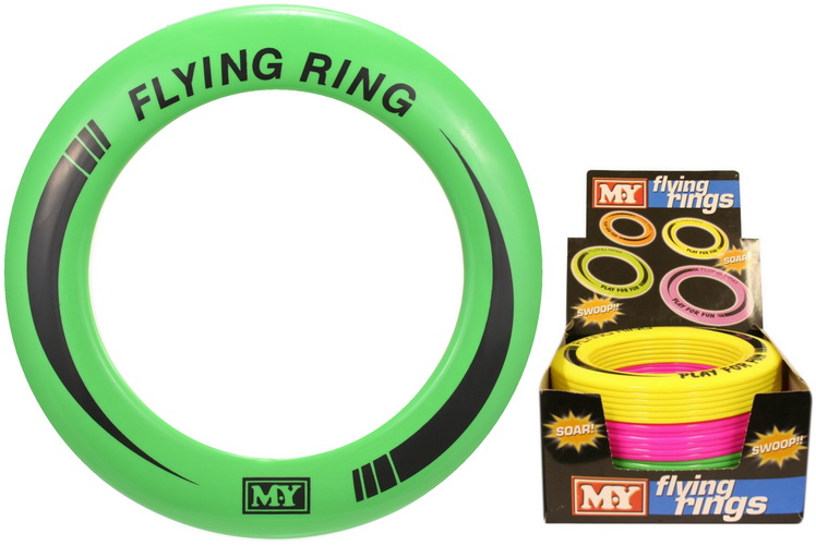 "Flying Rings (4 Assorted) In Display Box ""M.Y"""