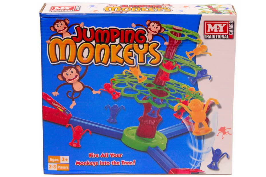 """Jumping Monkeys Game In Colour Box """"M.Y"""""""