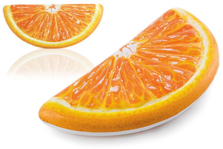 "Orange Slice Mat 70"" x 33.5"""