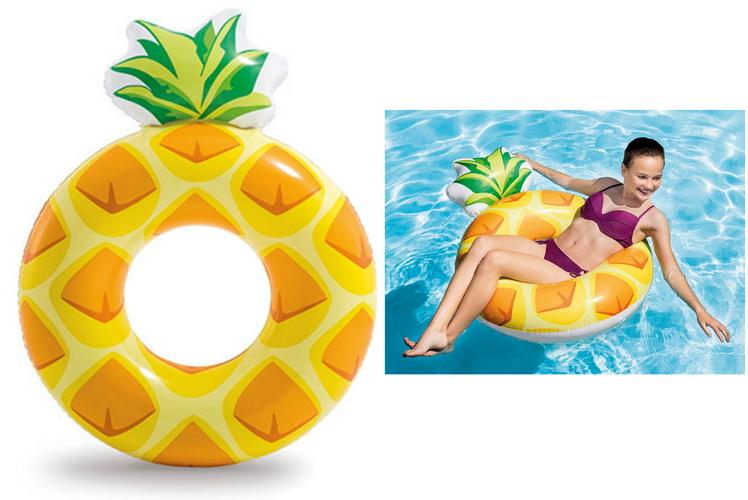"Pineapple Tube 46"" x 34"""