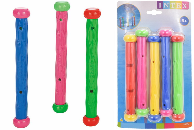 Underwater Play Sticks - Set Of 5