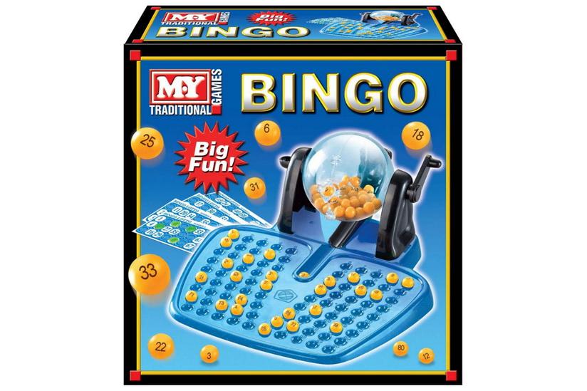 "Large Bingo Set In Colour Box ""M.Y"""