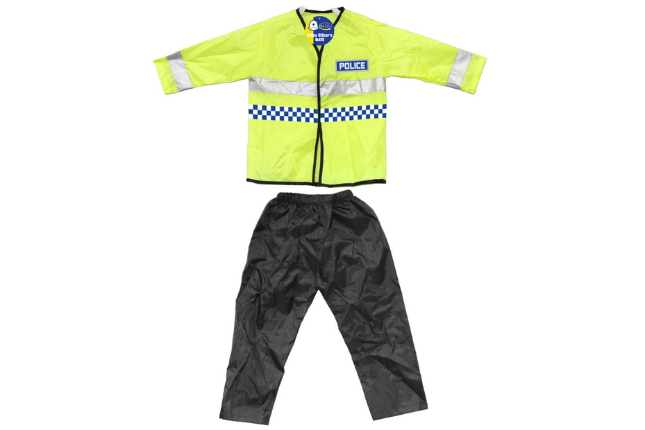 Childs Dress Up Police Outfit 2 Sizes 3-5/5-7(Vat Free)