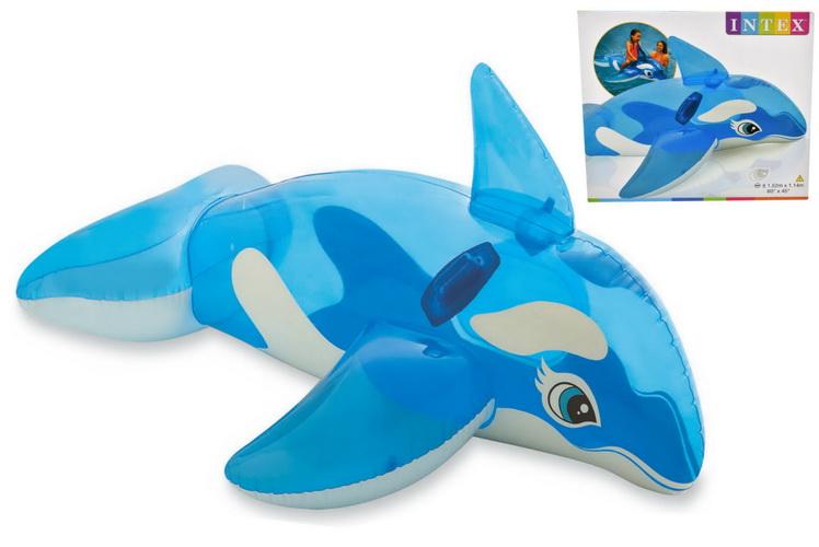 "Lil' Whale Ride On 60"" x 45"" In Shelf Box"