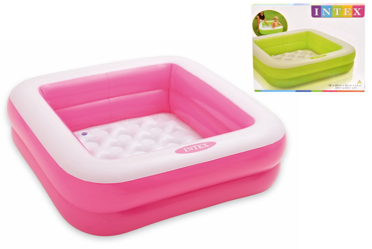 """33.5"""" x 33.5"""" x 9"""" Play Box Pool (Ages 1-3)-2 Assorted"""