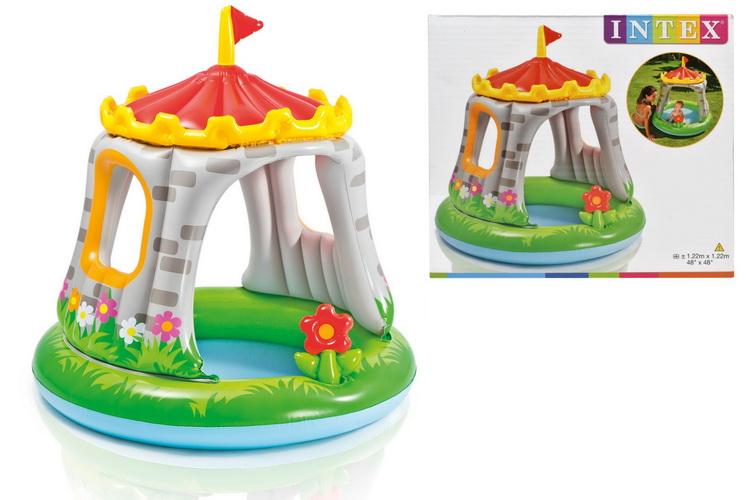 "Royal Castle Baby Pool 48"" x 48"""