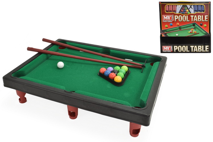 """Pool Table Game In Window Box / Pdq - """"M.Y"""""""