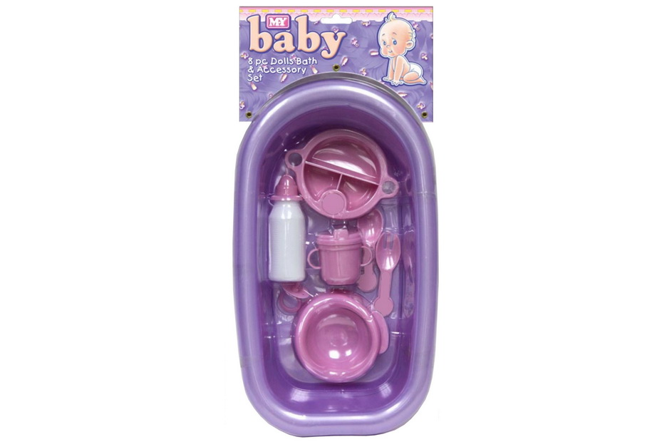 8pc Bath Set For Baby Doll - Baby Doll Series