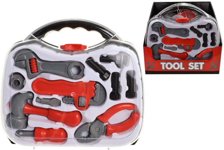 Tool Set In Acetate Carry Case In Pdq