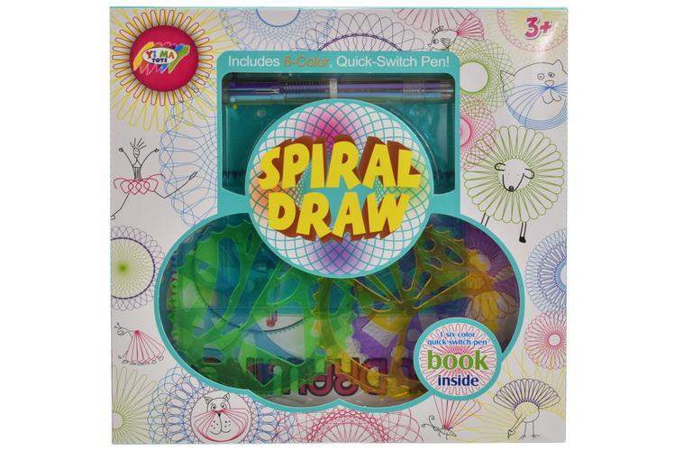 Spiral Art Playset In Window Box