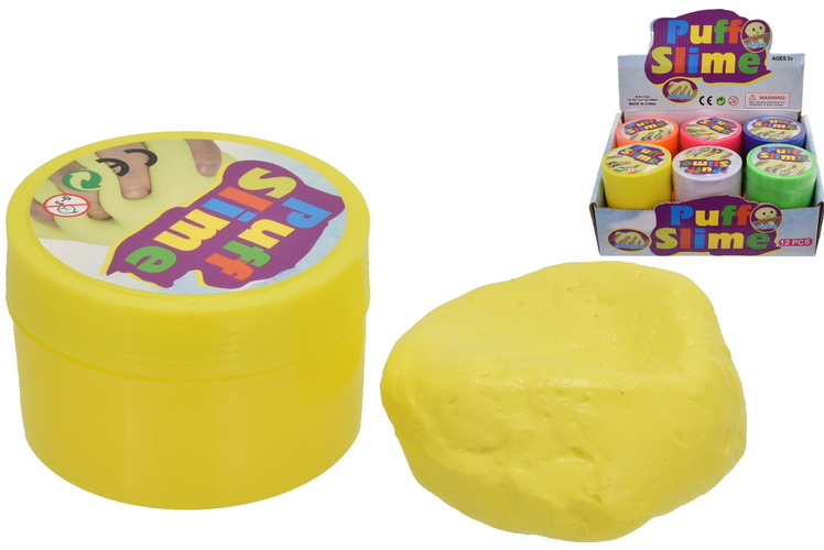 Puffy Putty (60gm) 6 Assorted Colours In Display Box