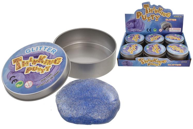 Glitter Mind Putty (50gm) In Tin & Display Box