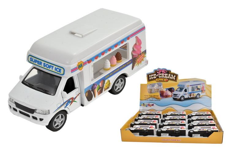 Die Cast Ice Cream Van In Display Box
