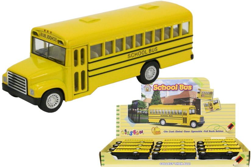 """5"""" Die Cast School Bus In Display Box"""