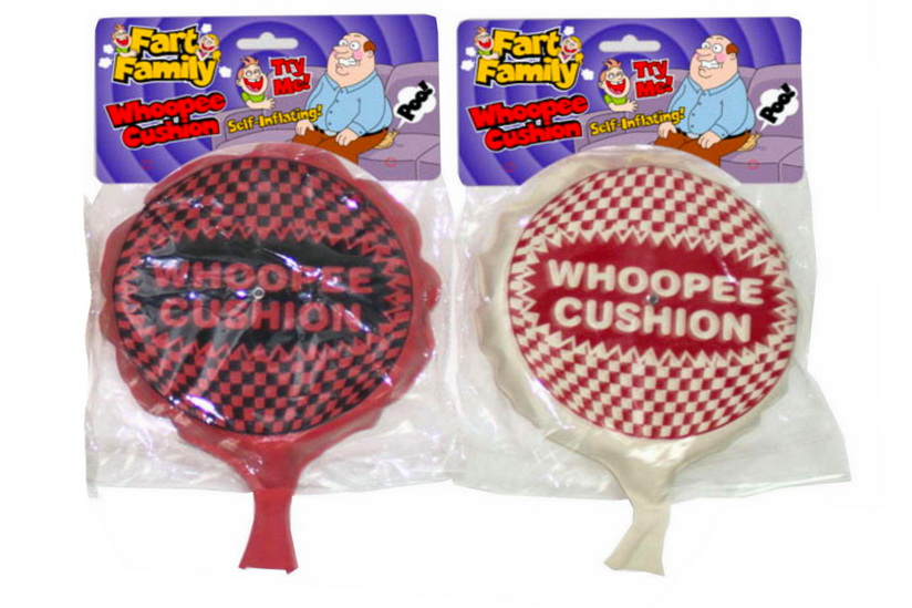 "Self Inflating Whoopee Cushion ""Fart Family"""