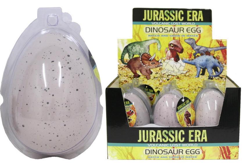 Large Growing Dinosaur Egg In Display Box