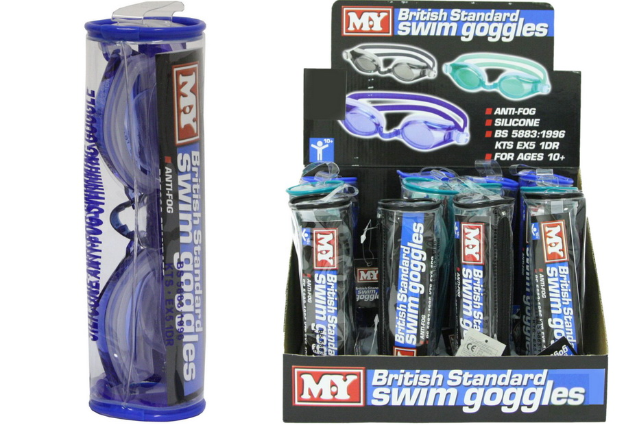 """M.Y"" Age 10-Adult Anti-Fog British Standard Goggles-Db"