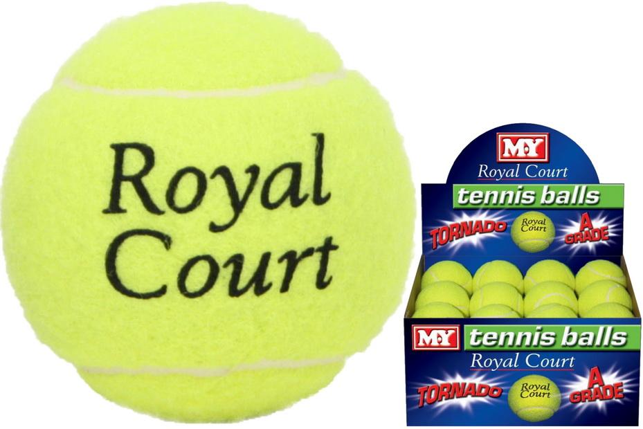 """Tennis Ball Tornado Premium Quality """"M.Y"""" (No Barcode)"""