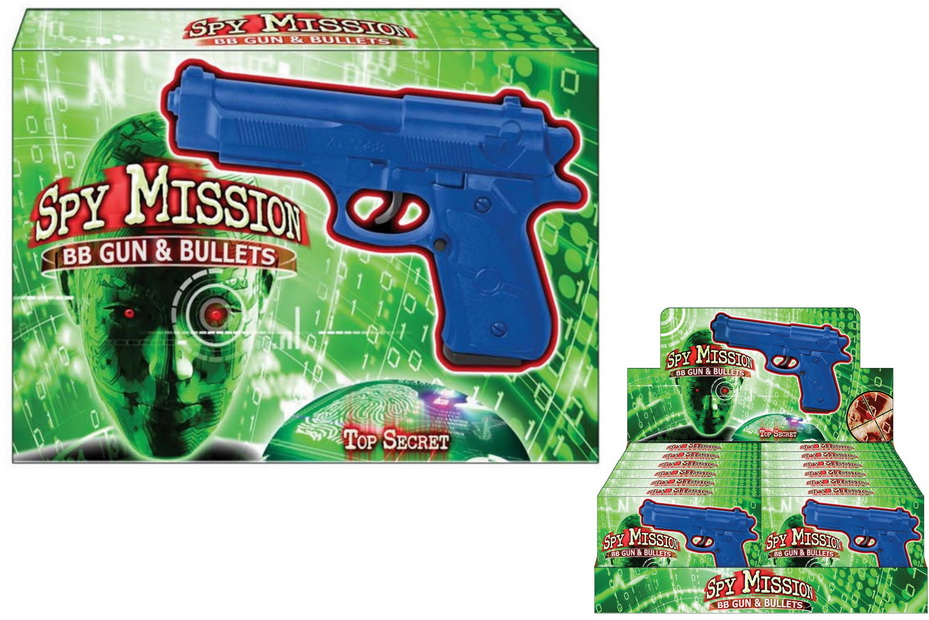 Bb Gun - Spy Mission - Printed Box Display Box