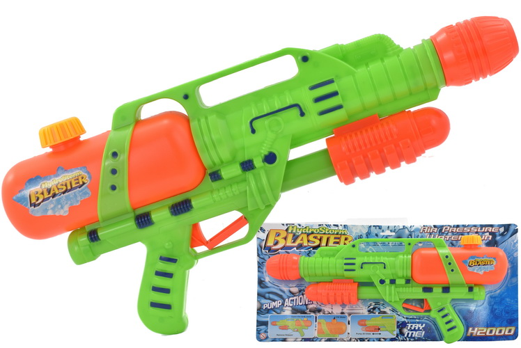 "46cm Air Pressure Water Gun On Tie Card ""Hydro Range"""