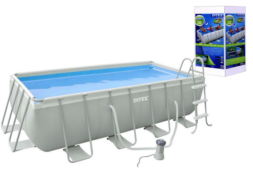 Rectangular Ultra Frame Pool Set (400 x 200 x 100cm)