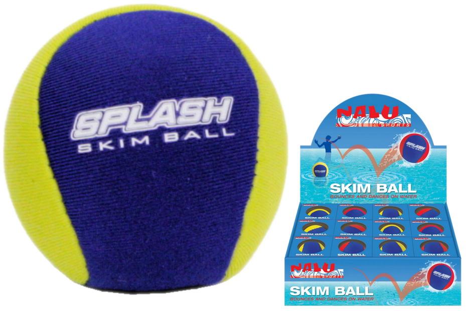 55mm Dia Neoprene Skim Ball In Colour Box / Disp Box