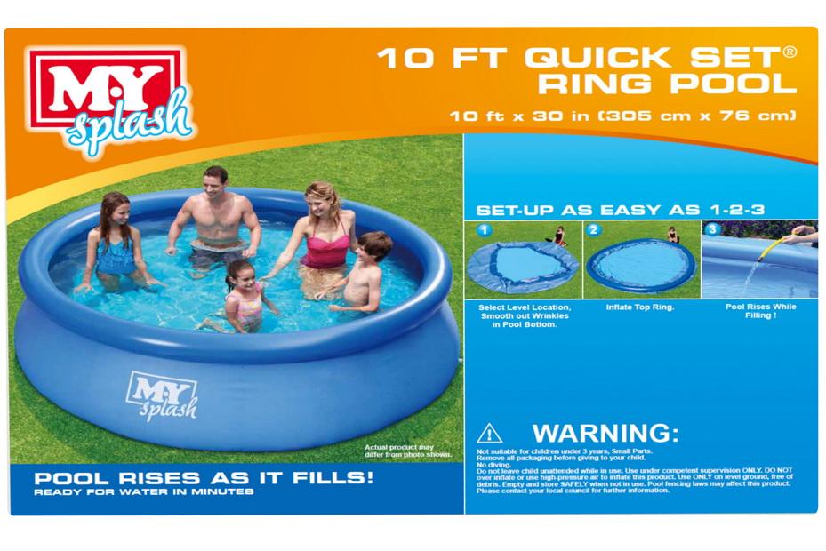 """10' x 30"""" Quick Set Ring Pool"""