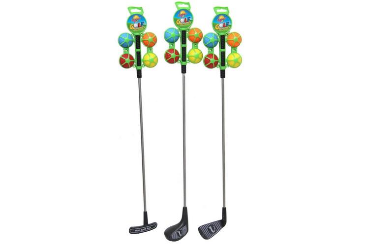 "Golf Club With Metal Shaft - 4 Balls ""Summer Fun"""