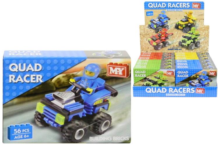 "Racing Quads Building Bricks - Four Asst - P/Bd/B ""M.Y"""