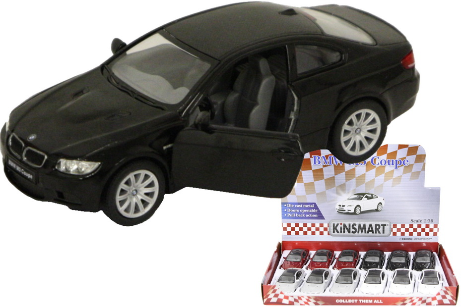 1:36sc Die Cast Bmw M3 Coupe In Display Box