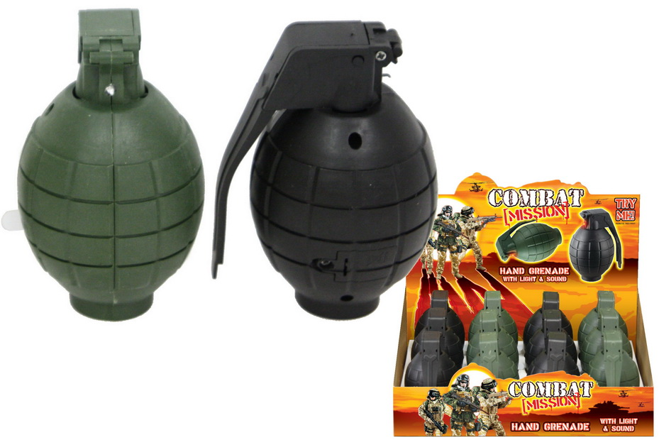 """Hand Grenade With Sound & Light In Dbx """"Combat Mission"""""""
