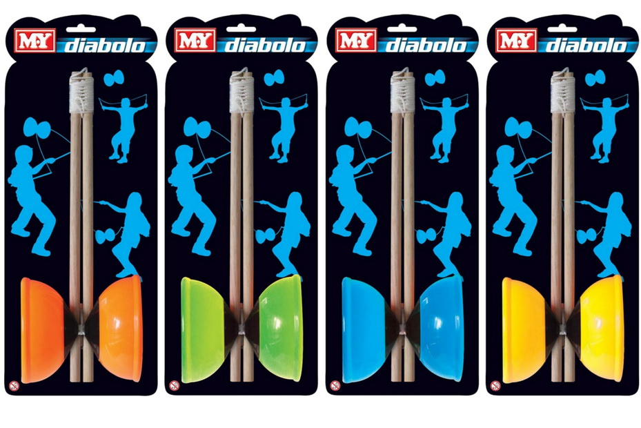 "Large Diabolo On Tie Card ""M.Y"""