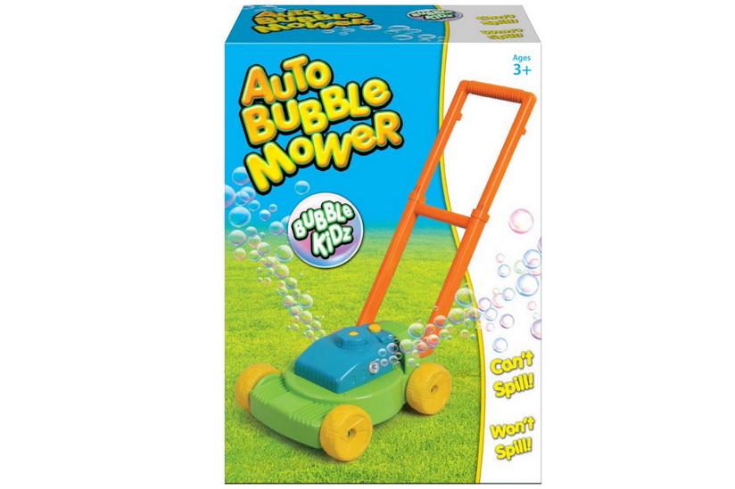 """Auto Bubble Mower & Bubbles In Colour Box """"Bubbles"""""""