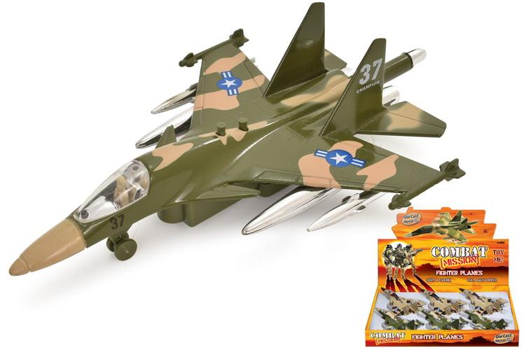"Die Cast Fighter Planes 1:120sc ""Combat Mission"""
