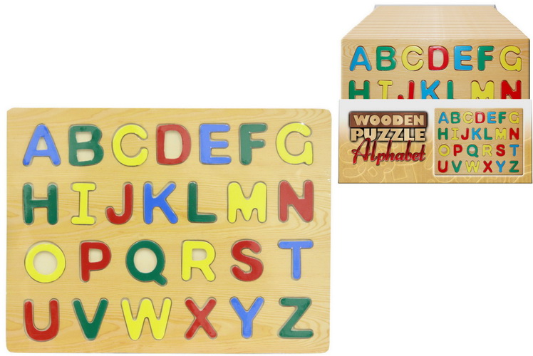 Alphabet Wooden Puzzle In Display Box