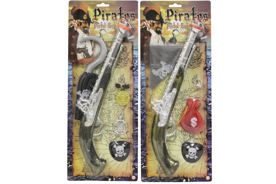 """Pirate Gun 2 Assorted - """"Pirates"""""""