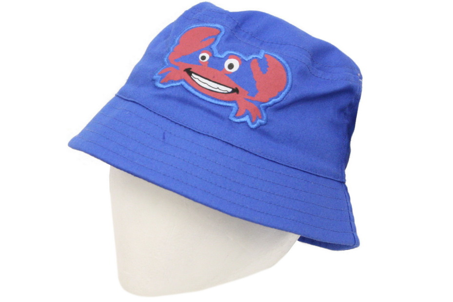 Childs Beannie Hat With Crab Embroidery (Zero Vat)