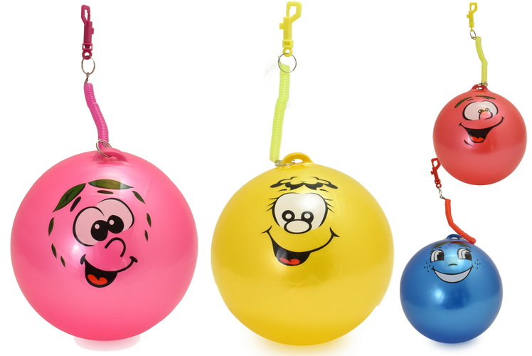 90gm Fruity Smelly Ball With Keyring - 4 Asst Cols