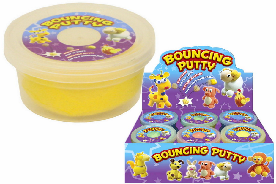 Neon Colour Bouncing Putty In Display Box