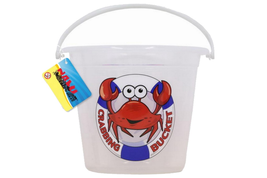 Large Crab Bucket With Print