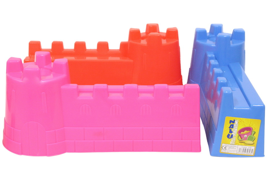 """Large Sand Castle Mould - 3 Assorted Colours """"Nalu"""""""