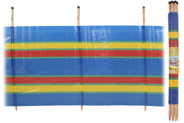 "10 Pole Windbreak - 5' ""Nalu"""