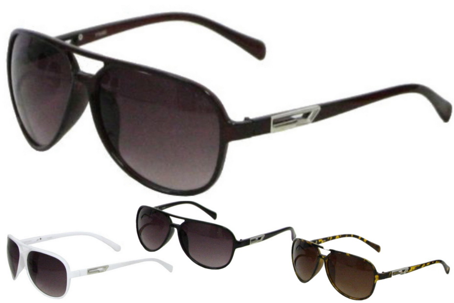 Ladies Larger Lens Designer Sunglasses - 4 Assorted