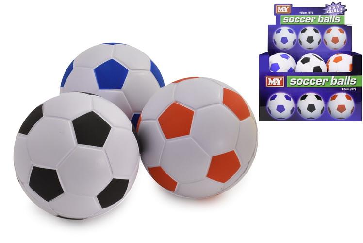 "6"" Pu Footballs In Display Box ""M.Y"""