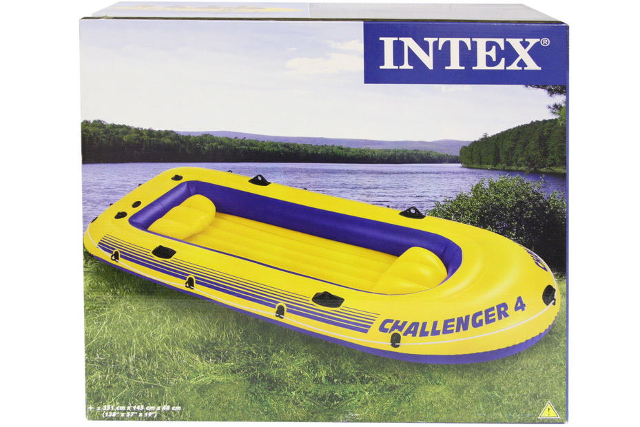 "Challenger 4 Boat (138""X 57""X 19"") In Shelf Box"