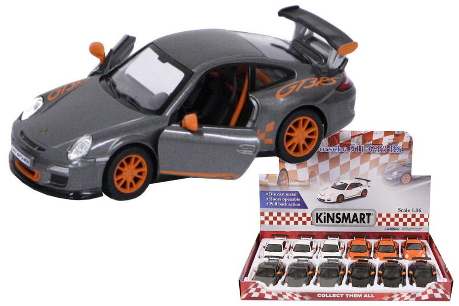 1:36sc Die Cast Porsche Gt3 Rs In Display Box