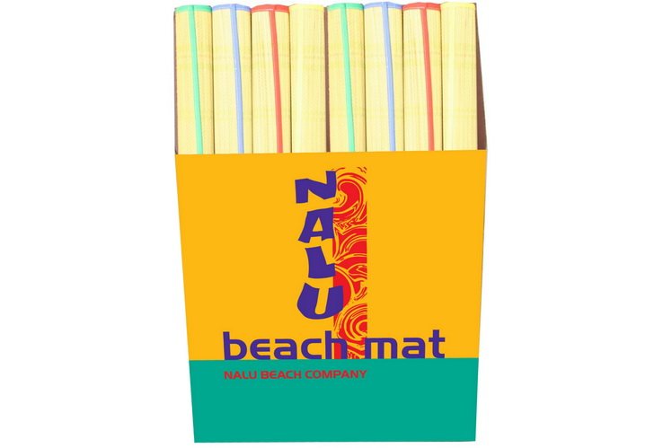 "30"" x 72"" Premium Grade Beach Mat In Display Box"