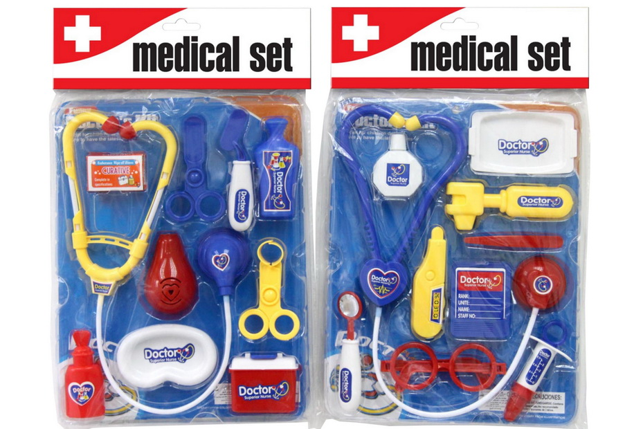 Doctor Set In Polybag / Blister - Doctors Series